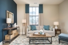 Oversized windows and abundant natural light