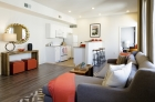 Welcoming living and entertaining areas