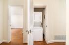 Stackable in-door washer and dryer unit