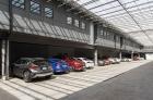 Plant 1 enclosed indoor parking