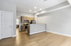 Open concept kitchen and living space at 1300 Chestnut Street