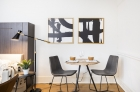 Adelphia House dining space
