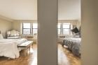 Parkway House bedrooms with hardwood flooring