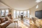 Expansive windows and abundant natural light