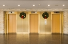 Parkway House elevator bank
