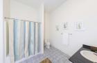 Model unit modern bathroom