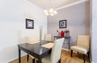 Flexible dining and entertaining spaces