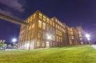 Night lighting Granby Mill facade