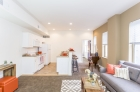Combined kitchen and dining spaces