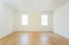 Bedroom hardwood flooring