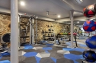 State-of-the-art fitness center at Waterfront Apartments