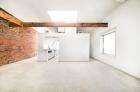 Waterfront Apartments' wood plank ceiling floorplans